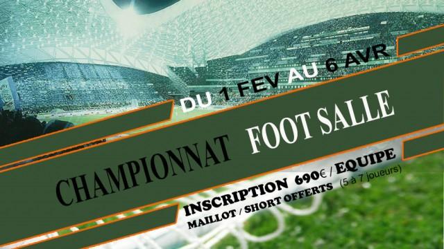 Championnat Foot Salle Entreprise 2014